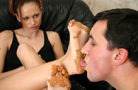 Licking Dirty Feet
